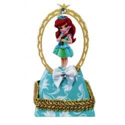 caixa cone princesa ariel baby